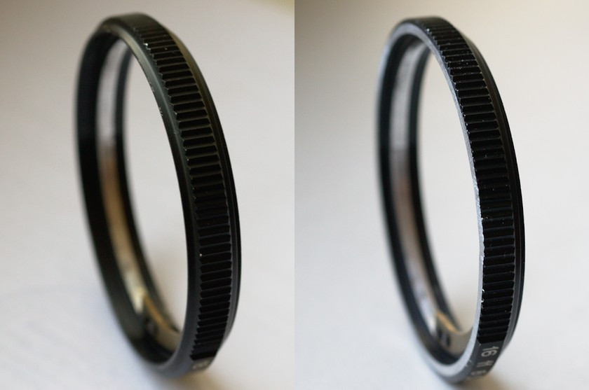 The aperture ring of Helios-81М