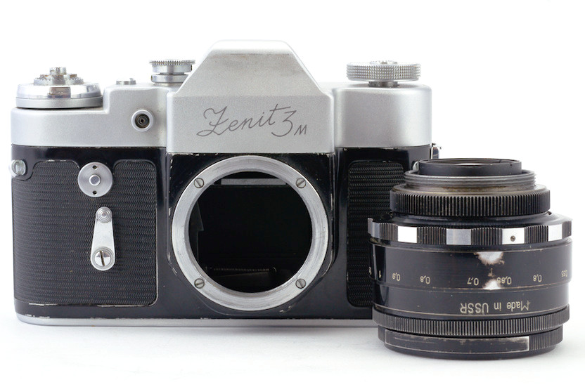 Zenit-3M with lens