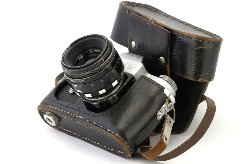 Zenit-3M film camera in case