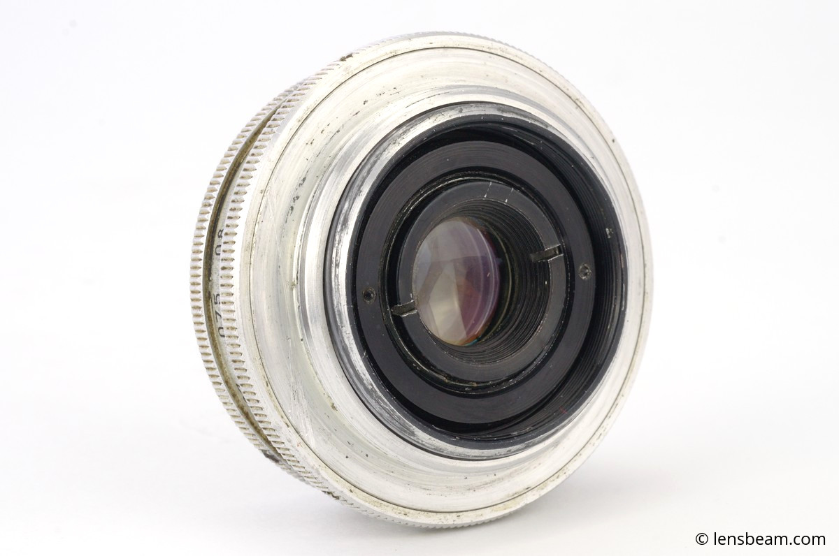 Industar-50 f/3,5 f=5cm P rear