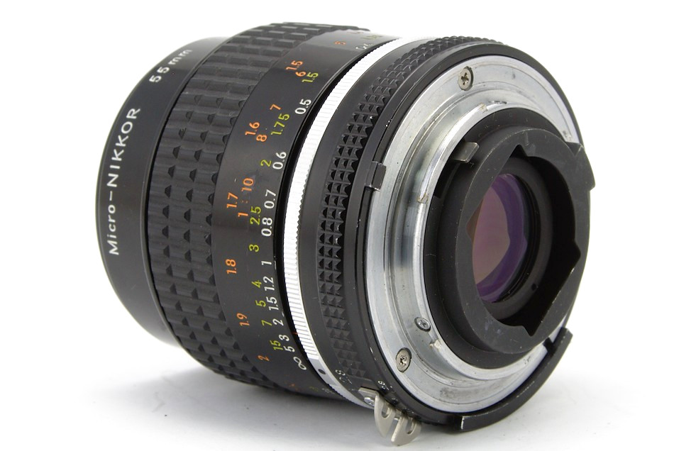 Nikon Micro-Nikkor 55mm f/2.8 rear