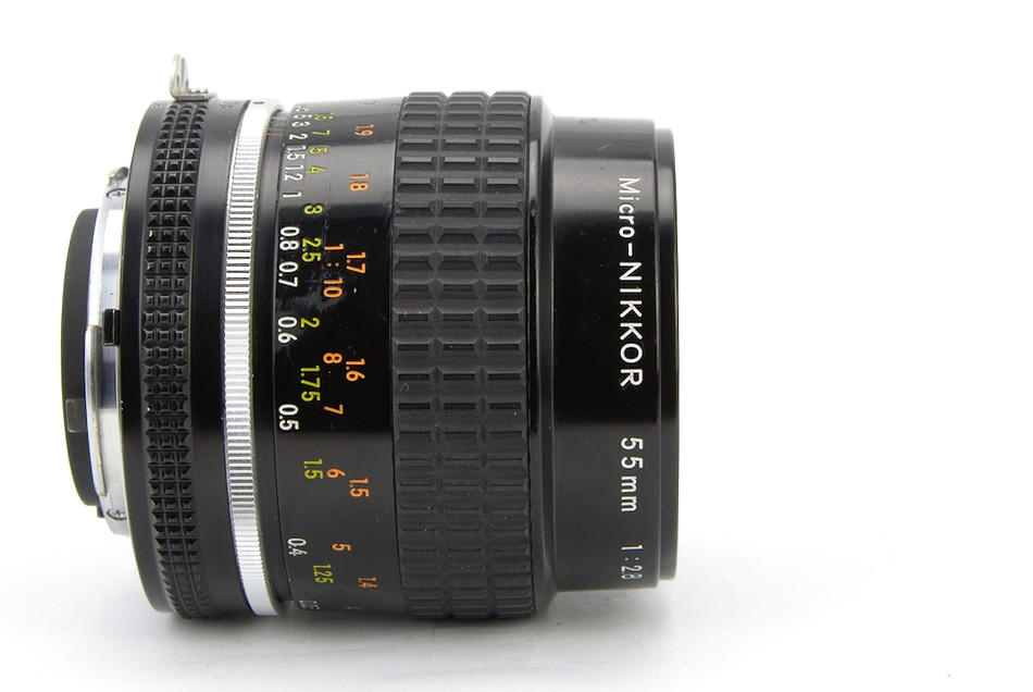 Nikon Micro-Nikkor 55mm f/2.8 at infinity
