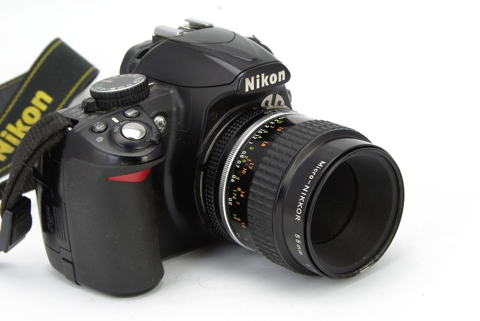 Nikon D3100 with Nikon Micro-Nikkor 55mm 2.8