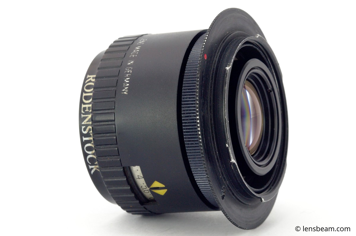 Rodenstock Rodagon 50mm f/2,8 mounting