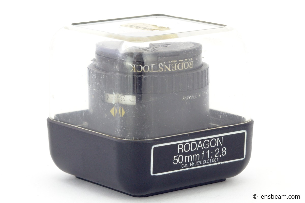 Rodenstock Rodagon 50mm f/2,8 box