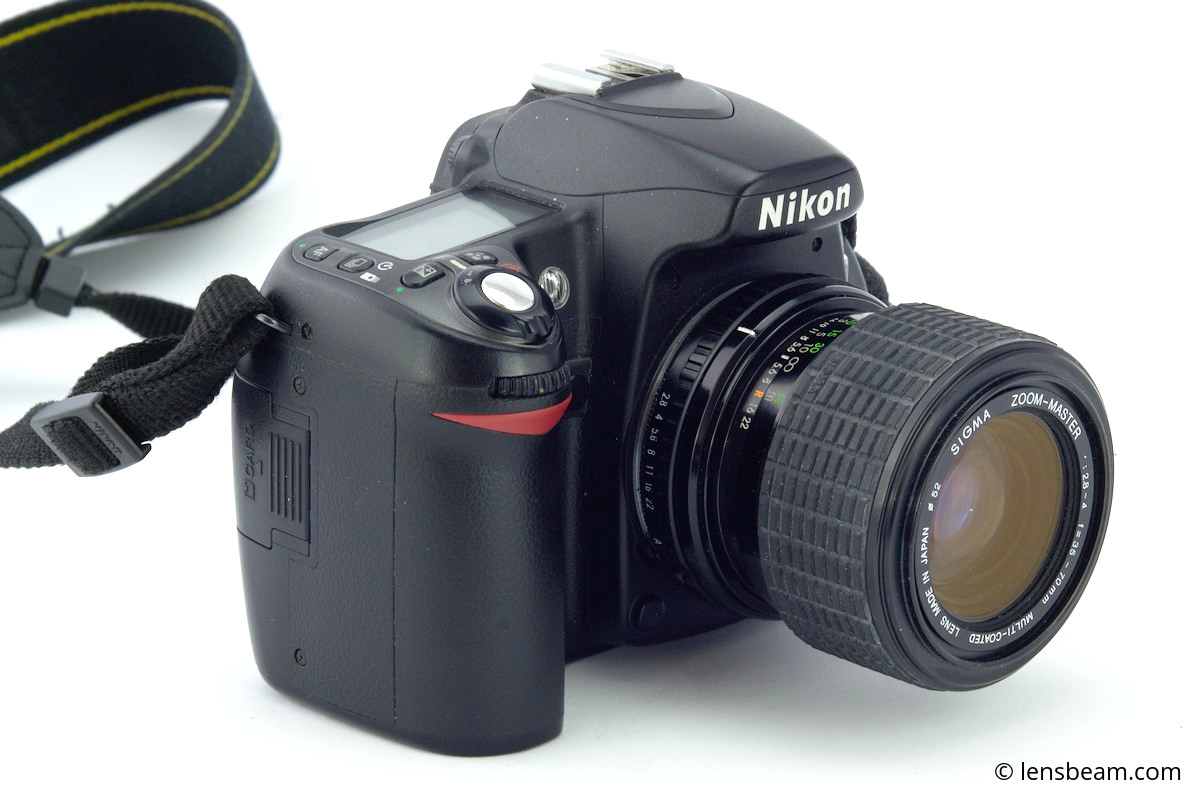 Sigma Zoom-Master f/2.8-4 f=35-70mm on Nikon D3100