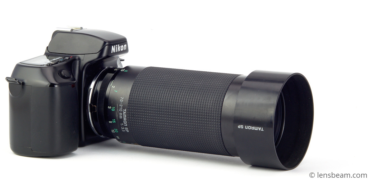 Tamron SP 70-210mm 3,5 with hood