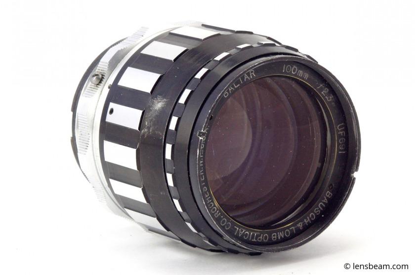 Bausch & Lomb Optical Co. Baltar 100mm f2.3. Review