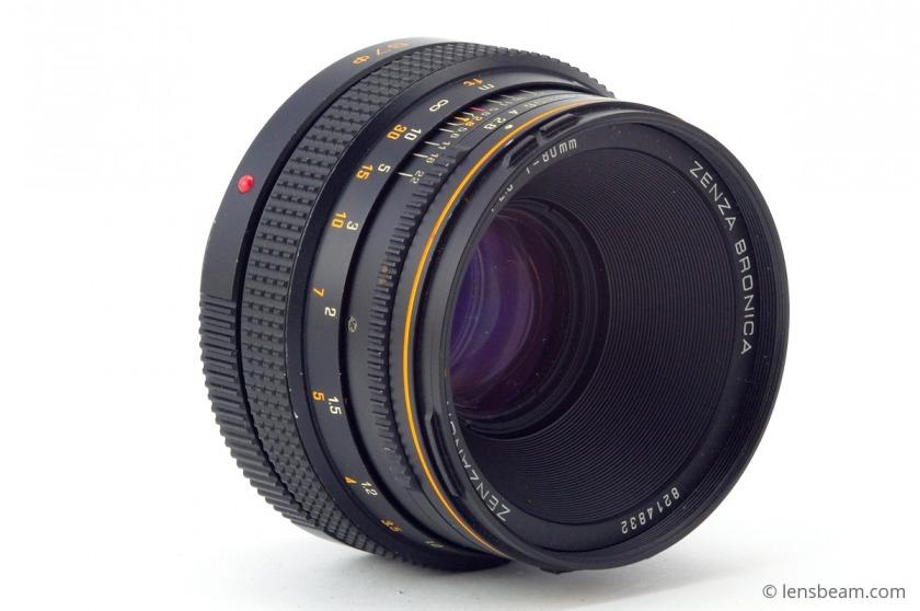 Zenza Bronica Zenzanon-S 1:2.8 f=80mm Review