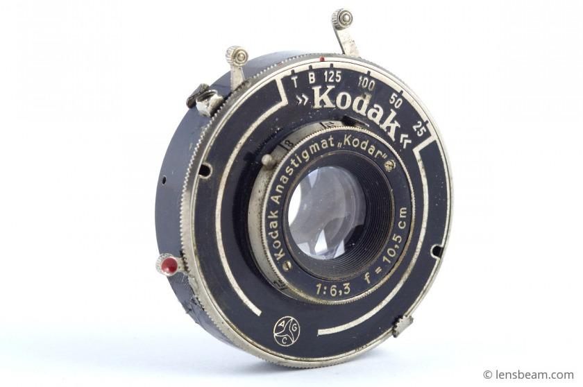Kodak Anastigmat «Kodar» 1:6,3 f=10,5 cm. Review