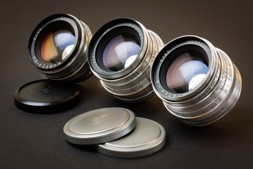 Soviet Lenses. Names and Optical Design