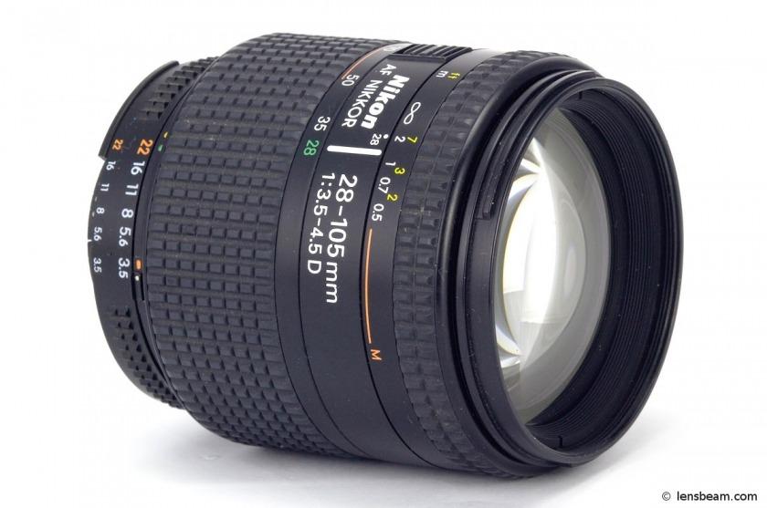 Nikon AF Nikkor 28-105mm 1:3.5-4.5D. Review