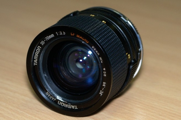 Tamron 35-70 f/3.5 17A Adaptall-2 Disassembly and Fungus Cleaning