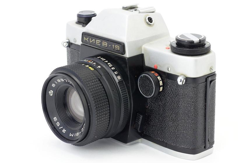 Film SLR Camera Kiev-19 Review