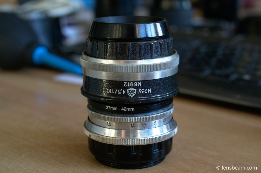 DIY Helicoid for Medium Format Enlarger Lenses