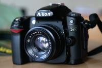 The fitting Helios-81М 2/53 on Nikon cameras