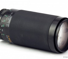 Tamron SP 70-210mm 1:3,5 Adaptall-2 model 19AH Review