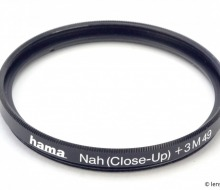 Close Up Filter hama Nah (Close-Up) +3 M49 (III). Review
