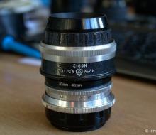 DIY Helicoid for Medium Format Enlarger Lenses