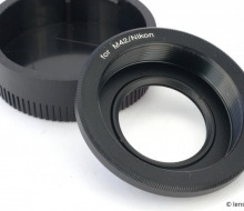 M42-Nikon Adapter Ring with Glass. Test